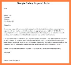 Salary increase proposal template employee promotion announcement request letter for certificate employment sample salary free word pdf documents download yadclub Images