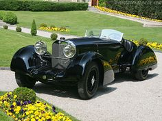 One of the rarest cars in the world MERCEDES BENZ SSK- Count Trossi