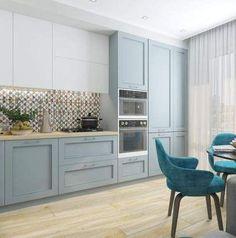 65 Ideas Farmhouse Apartment Decor Floors For 2019 - Thuisdecoratie Rustic Kitchen, Country Kitchen, New Kitchen, Kitchen Decor, Kitchen Ideas, Bohemian Kitchen, Kitchen Small, Kitchen Paint, Kitchen Colors