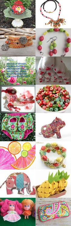 Tutti Frutti by Clemmie Sheffield on Etsy--Pinned+with+TreasuryPin.com