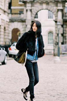#fashion-ivabellini Vanessa Jackman: London Fashion Week AW 2012/13...Miao