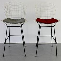 Harry Bertoia constructed from vinyl-coated bent and welded steel,