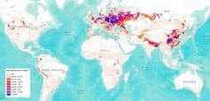 19 nuevos y curiosos mapas del mundo que te sorprenderán - Taringa!