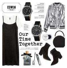 """Edwin Watch - Our Time Together"" by helenevlacho ❤ liked on Polyvore featuring Sans Souci, BUwood, Torrid and Burberry"