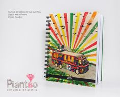 Agendas ilustradas, una guía para cumplir un sueño piantao