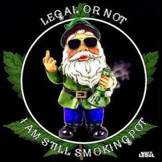 Stoner Meme- Legal or Not, Still Smoking Pot Marijuana Art, Weed Memes, Weed Humor, Medical Marijuana, Stoner Art, Stoner Meme, David The Gnome, Psychedelic Art, Herbs
