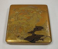 Writing Box,Edo period (1615–1868)