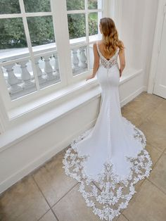 Blue By Enzoani Wedding Dresses At Elizabeth Kate Bridal Crowle Scunthorpe Stunning Wedding Dresses, Luxury Wedding Dress, Wedding Dress Shopping, Casual Wedding, Bridal Wedding Dresses, Dream Wedding Dresses, Form Fitting Wedding Dresses, Wedding Rustic, Wedding Dresses Tight Fitted