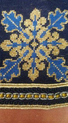 Gallery.ru / Φωτογραφία # 4 - 33 - ergoxeiro Cross Stitch Embroidery, Cross Stitch Patterns, Stitch 2, Needlepoint, Needlework, Mandala, Projects To Try, Christmas Decorations, 1