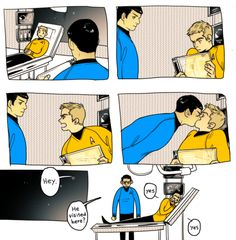 Spirk in Tumblr by naum-e
