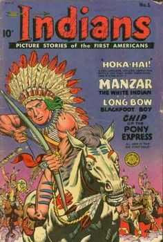 "We have cowboy comics, why not Indians? Whether or not the stories do our tribal brothers justice, the cover does call them ""The First Americans."""