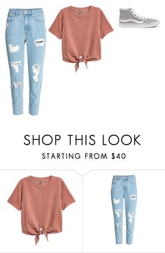 """""""Untitled #153"""" by beccastylesxoxo ❤ liked on Polyvore featuring Vans"""