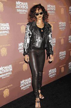 Rihanna with Miu Miu Sunglasses