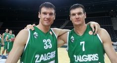 Darjuš and Kšyštof Lavrinovič