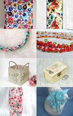 Flower Treasury by margheritka on Etsy--Pinned with TreasuryPin.com