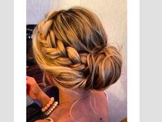 It's so pretty! I have done this with my hair once! <3