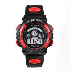Stylish HONHX Children watch LED Digital Sports Relojes Mujer Boys girls fashion Cartoon Waterproof Relogio Feminino 2016 ST12 #shoes, #jewelry, #women, #men, #hats, #watches