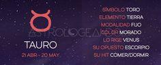 Tauro: Características #Astrología #Zodiaco #Astrologeando #Tauro