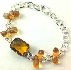 Pulsera en Citrino-Pulsera en cuarzo citrino-pulsera en cristal de cuarzo-pulsera en cuarzo-brazalete en citrino-brazalete en cuarzo citrino-joyas en cuarzos-cristal de cuarzos-cuarzo del dinero-cuarzo de la abundancia-