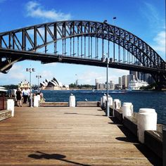 Lovely walk earlier with a @lunaparksydney ice cream. So lucky to have #sydneyharbourbridge on my doorstep - #Kirribilli is the best!!! by seedyontour http://ift.tt/1NRMbNv