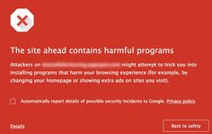 Google brings Chrome's Safe Browsing feature to Android