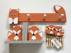 Items similar to Fox Nursery Set, Fox Kids Decor Set, Woodland Nursery, Woodland Kids Decor, Fox Nur Fox Themed Nursery, Woodland Nursery Boy, Fox Nursery, Forest Nursery, Boys Bedroom Themes, Nursery Themes, Kids Bedroom, Nursery Ideas, Baby Boy Rooms