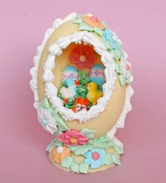 Sugar Egg Recipe and Tutorial...i would love to make one of these!!