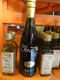 White Truffle oil and Tuscan herb olive oil now available in 100 ml bottles.
