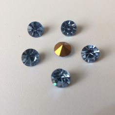 Now available in store!! 8mm round light sapphire blue £2.99 for 6 at www.jedjewellerysupplies.com