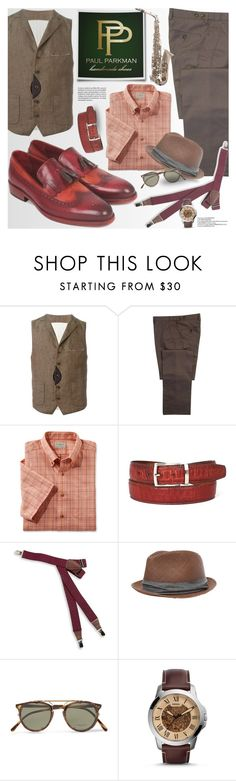 """PAUL PARKMAN - Don't count the days - make the days count"" by an1ta on Polyvore featuring CENA, L.L.Bean, Kiltie, BLACK BROWN 1826, rag & bone, Oliver Peoples, FOSSIL, Ravel, vintage and men's fashion"