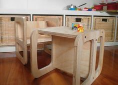 #cube chair #Montessori #baby chair #toddler chair #child table