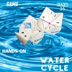 Water Cycle Science Game by Innovative Teacher
