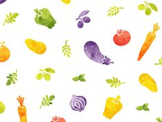 Healthy food pattern by Dima Je