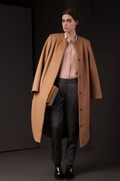 Candamill's Stella Coat is cut in a soft and luxurious mid weight wool