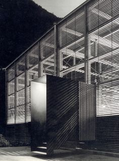 Shelter for Roman Ruins in Chur, Switzerland by Peter Zumthor, 1986