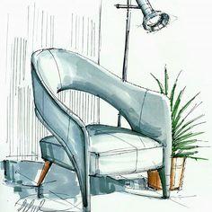 furniture drawing furniture sketch Home Decorators Hamilton Vanity Drawing Furniture, Room Furniture Design, Furniture Legs, Garden Furniture, Furniture Makeover, Furniture Projects, Furniture Decor, Furniture Sketches, Chair Drawing