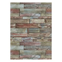 Wood Wallpaper in Multi design by BD Wall ($60) ❤ liked on Polyvore featuring home, home decor, wallpaper, backgrounds, walls, phrase, quotes, saying, text and texture