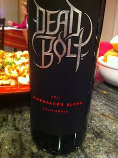Dead Bolt Red - A Winemaker's Blend from California