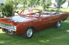 1967 Dodge Dart GT Convertible 2-Door 4.5L