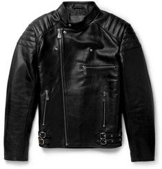 McQ Alexander McQueenQuilted Leather Biker Jacket