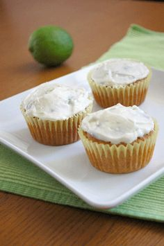 lime cupcakes (gluten free)