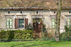 Wandern in Brandenburg - Altes Bauernhaus