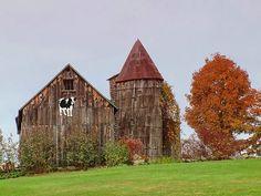 Autumn time around the barn