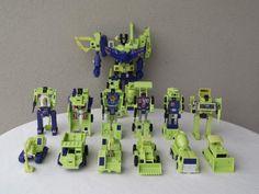 Transformers G1 Constructicons and Devastator