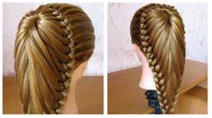 Coiffure avec tresse Belle coiffure facile à faire cheveux long / mi long Coiffure pour fille - YouTube