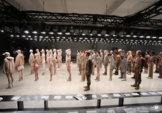 An Exclusive Behind The Scenes Look At The Yeezy Season 2 Show Page 8 of 9 - SneakerNews.com