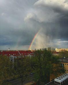 #rainbow #storm