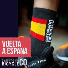 The celebration continues. Stop by the Cary St shop tomorrow after the Saturday morning group ride for some Coffee and a Vuelta live stream. Pick up a pair of the Vuelta socks by @kingtechnicalapparel while you're at it. Can Ben King take a third stage? We think so. ... ... ... ... ... ... ... #vueltaaespaña #vuelta #kingapparel #bikesocks #sockdoping #cyclingsocks #bikephotography #productphotography #spain #spanishflag #carytown #richmond #benking Spanish Flags, Bike Photography, Saturday Morning, Third, Celebration, Stage, Bicycle, Socks, King