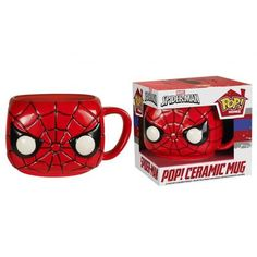 Marvel 12010323 Spider-Man Pop! Home 12 Oz. Mug
