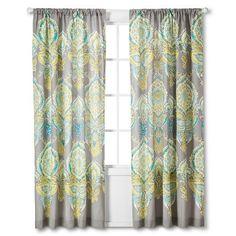 Mudhut™ Anila Curtain Panel - Multi-Colored (84